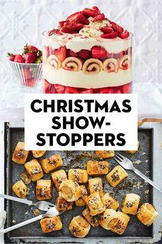 From drinks to desserts, moutwatering mains to sides and salads, these are the festive recipes you want on your must-make list this year. Christmas Dinners, Best Christmas Recipes, Christmas Shows, Christmas Lunch, Christmas Appetizers, Christmas Cooking, Christmas Goodies, Christmas Desserts, Christmas Treats