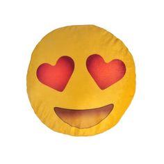 Almofada Emoji Apaixonado - 40 x 40 x 6 cm