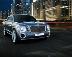 Bentley EXP 9 F – The Brand's First SUV Concept