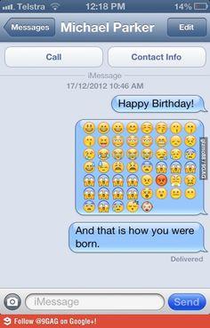 Happy Birthday?