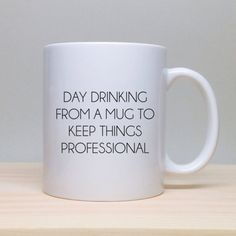 Sure, you need to paste on a happy face when you get to the office, but you can enjoy your breakfast at home with a side of snark beforehand. Here, 11 coffee mugs that might not be office-appropriate. You be the judge. It's Too Early for You to Say Things Mug from Emily McDowell, $18. Take Off My Pants Mug from Emily McDowell, $18. Breathe Mug from Emily McDowell, $18. I'm Glad We Had This Chat from Mugnacious, $15. Little, If Any, Natural Ability from Mugnacious, $15. What I Lack in ...