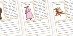 Fantastic Mr Fox Printables (guided reading questions chapter by chapter!)