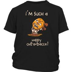 Happy Chewbacca Youth T-Shirt