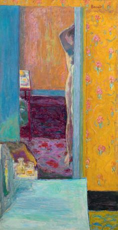 Painting Arcadia opens this week at the Musée d'Orsay in Paris and will travel to Madrid before coming to San Francisco, its sole American venue.  Perhaps only Matisse's greater creative versatility — he moved with ease from painting to drawing, printmaking, sculpture and collage — explains his overshadowing the moodier and often more mysterious art of Bonnard.  [...] they formed different artistic alliances, Bonnard joining Maurice Denis, Edouard Vuillard and Paul Sérusier to form a group…