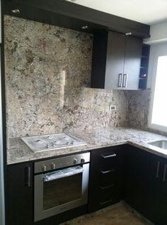 1000 images about nuestras cocinas on pinterest colors granite edges and chic - Muebles de cocina color wengue ...