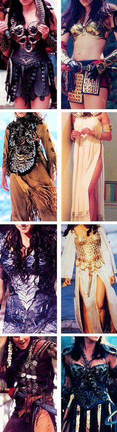 Xena + Costumes