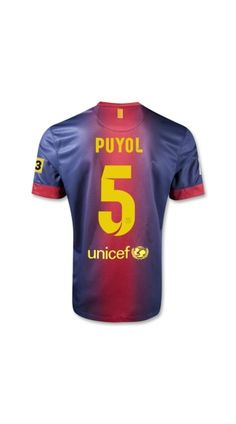 best quality ,discount 50%,12/13 barcelona puyol 5 home soccer uniforms for sale,barcelona kits,barcelona football shirt,team soccer uniform,soccer uniform 12 13,best service,free shipping!