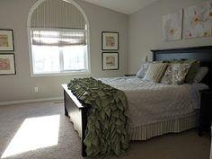 Arched Window Treatments Bedroom Half Moons