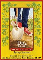 Dig Pale Ale, New Belgium's most recent spring seasonal.