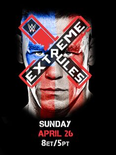 WWE Extreme Rules is tonight! John Cena Wwe Champion, Wwe Ppv, Wwe Pictures, Wwe Pay Per View, Wwe Wallpapers, Wwe Champions, Wrestling News, Big Show, Seth Rollins