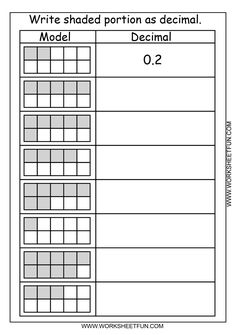 √ Worksheets Identifying Number Patterns Fractions and Decimals. 30 Worksheets Identifying Number Patterns Fractions and Decimals. Decimals Worksheets, 4th Grade Math Worksheets, Math Resources, Subtraction Worksheets, Percents, 4th Grade Fractions, Fourth Grade Math, Science Experience, Math Intervention