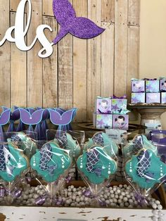 MERMAIDS Birthday Party Ideas   Photo 7 of 32   Catch My Party