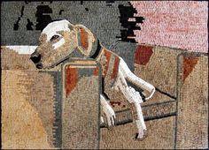 Dog Mosaic Portrait