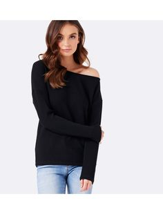 Discover a new wardrobe favourite and channel chic sophistication with our Sonia Slouch Off Shoulder Top, sure to see you transition effortlessly from day to night.