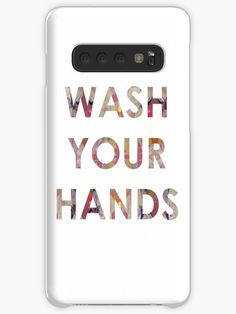 A friendly reminder to those around you to keep washing their hands during these strange times. We can all do our bit, pull together and get through it together. Galaxy Design, Protective Cases, Finding Yourself, It Works, Samsung Galaxy, Tech, Hands, Artists, Times