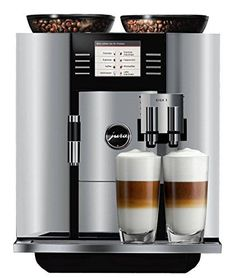 GIGA 5 Coffee and Espresso Center by Jura-Capresso. and it's on sale :) Espresso Machine Reviews, Best Espresso Machine, Cappuccino Machine, Espresso Maker, Coffee Maker, Cappuccino Coffee, Coffee Brewer, Coffee Shops, Coffee Lovers