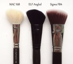Makeup brushes from the drugstore