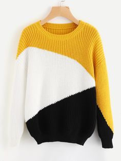 3ec85cac81 Drop Shoulder Color Block Jumper Factory - Shantou ZQ Sweater Factory - a  knitwear manufacturer from China