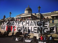 #PeoplesClimateMarch #ClimateChange #WakeUpCall #NationalGallery #TrafalgarSquare #CharringCross #WestEnd #London #UK #ClimateMarch #GlobalClimateMarch by lightanddark86