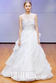 Tendance Robe du mariée  2017/2018  Ruffled ball gown with beaded bodice Rivini by Rita Vinieris Wedding Dress  Fal