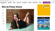 #Article about the #brand #RIEN by Penny Vomva @travel #style #Greece