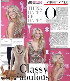 """""""Julianne Hough: Street Style"""" by fashiongirl1897 ❤ liked on Polyvore"""