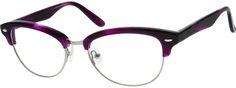 Order online, women purple full rim mixed materials wayfarer eyeglass frames model #193417. Visit Zenni Optical today to browse our collection of glasses and sunglasses.