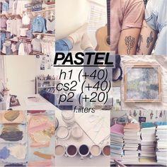 Schönstes Pastel Filter Theme