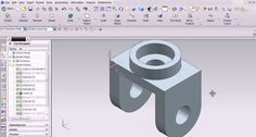 Siemens' NX software (NX 11) is the newest software in digital product development through Convergent Modeling.