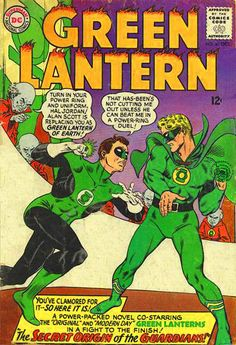 A cover gallery for the comic book Green Lantern Alan Scott, Green Lantern Hal Jordan, Superman Art, Dc Comics Superheroes, Photoshop, Silver Age, Dc Universe, Cover, Comic Books