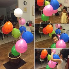 @sim.xen.lulu.dia shares: For our family worship tonight in Brisbane Australia we discussed holy spirit fruitage from Galatians 5:22 23. Our 5 year old loved blowing up the balloons putting them on the tree and then finding them as we read out the scripture. Her favourite qualities are peace joy and love.
