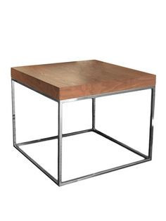 Fred Side Table (Walnut) by Pangea Home on Gilt Home  24 x 24 x 20h  235