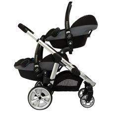 Zwillingskinderwagen maxi cosi  iCandy Peach 3 Blossom Twin Stroller (Black Magic) | Baby ...