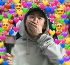 Jooheon, Hyungwon, Kihyun, Kpop Memes, Funny Memes, K Pop, Monsta X Funny, Heart Meme, Kpop Profiles