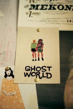 Ghost World cross-stitch!