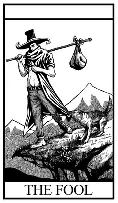 Black and White Tarot Deck Major Arcana on Behance