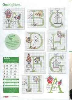 alphabet oiseaux 1