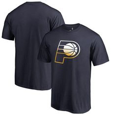finest selection 55013 da3c6 Indiana Pacers Fanatics Branded Big   Tall Gradient Logo T-Shirt - Navy