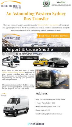 There are various transport administrations for Western Sydney bus transfer, all look great and appealing however on the off chance that you need an excellent administration alongside visitor like treatment in an exceptionally low cost, pick Here To There.