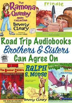Best Audiobooks For Family Road Trips {Age 5-7} - Traveling Family Blog