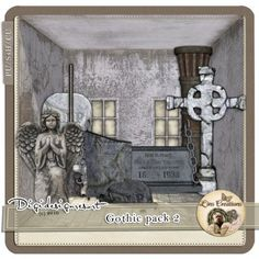 Digital Scrapbooking Tutorials for the Perfect Digital Scrapbook Gothic, Scrap, Artist, Goth, Artists, Goth Style