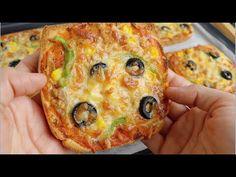Pizza deliciosa em 10 minutos, quando você não sabe o que fazer para o jantar 😋😋 muito saborosa - YouTube Solo Pizza, Le Diner, Cuisines Design, What To Cook, Brunch Recipes, Vegetable Pizza, Quiche, Tasty, Bread