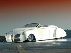 Visit The MACHINE Shop Café... ❤ Best of Hot Rod @ MACHINE ❤ (1939 Lincoln Zephyr Roadster)
