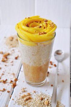 Chia pudding with nana-cinnamon ice-cream | Nads Healthy Kitchen