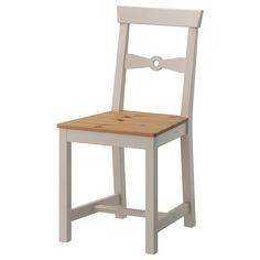 IKEA - GAMLEBY, Chair, Easy to move thanks to the hole in the backrest.Solid pine is a natural material which ages beautifully and gains its own unique character over time.