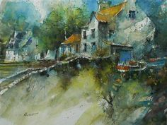 Eric Laurent   WATERCOLOR