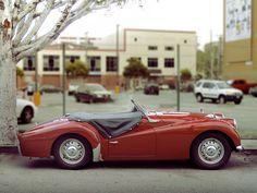 - Triumph TR3A   1960 This is a very original...