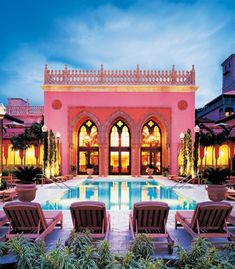 Stunning! The Tower Pool at Boca Raton Resort & Club sets a dramatic scene
