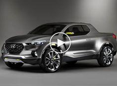 Hyundai Apresenta Picape Santa Cruz Concept (Fotos + Vídeo)