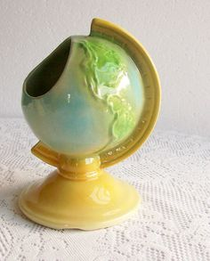 Shawnee World Globe Planter